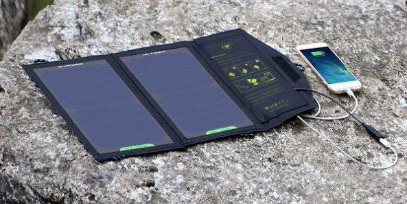 10W vouwbaar zonnepaneel Allpowers