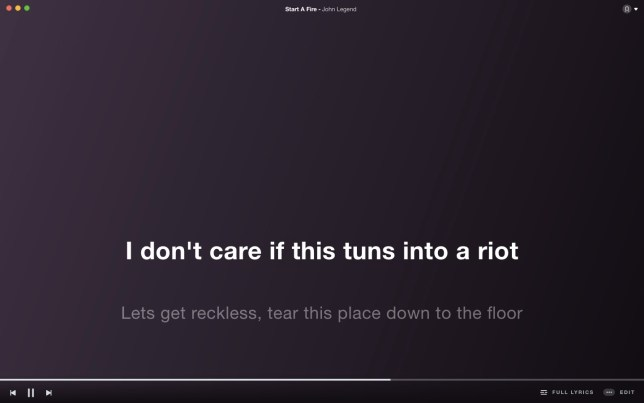 spotify lyrics songteksten