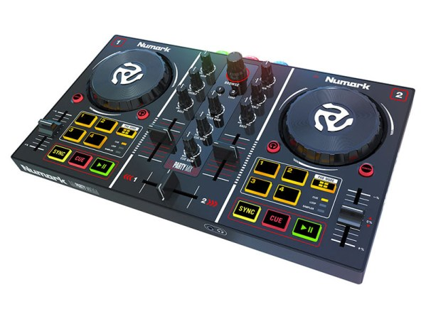 numark party mix midi controller spotify dj