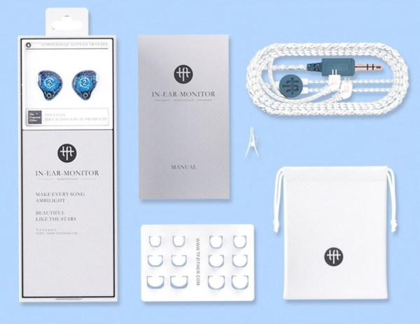 TFZ Series 2 oordopjes verpakking