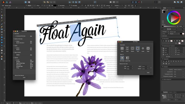 affinity publisher alternatief adobe indesign