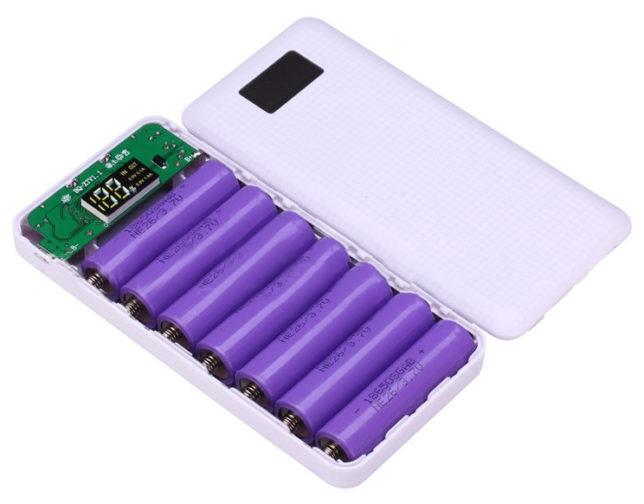 oplaadbare batterijen als powerbank
