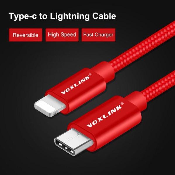 USB-C naar Lightning kabel goedkoop