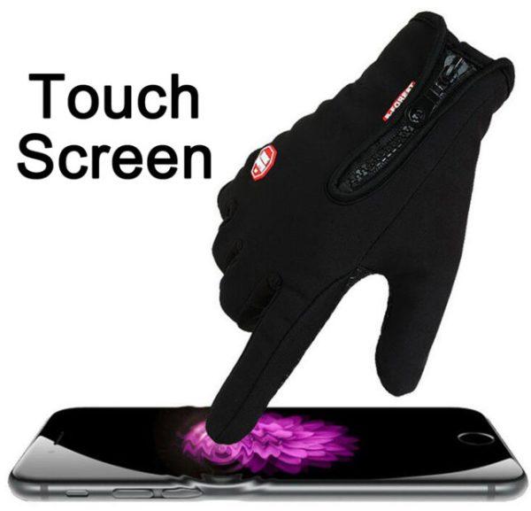 handschoenen touch screen scherm IOS Android telefoon mobiel