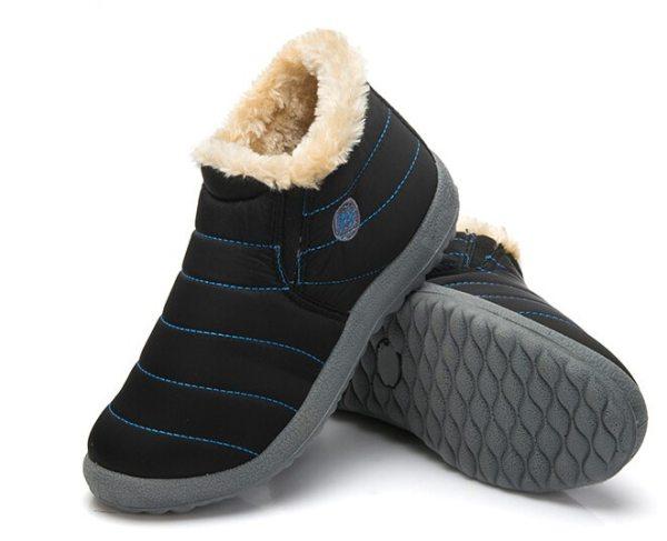 Pantoffels / SKI boots, waterdicht, dikke zool, met hiel