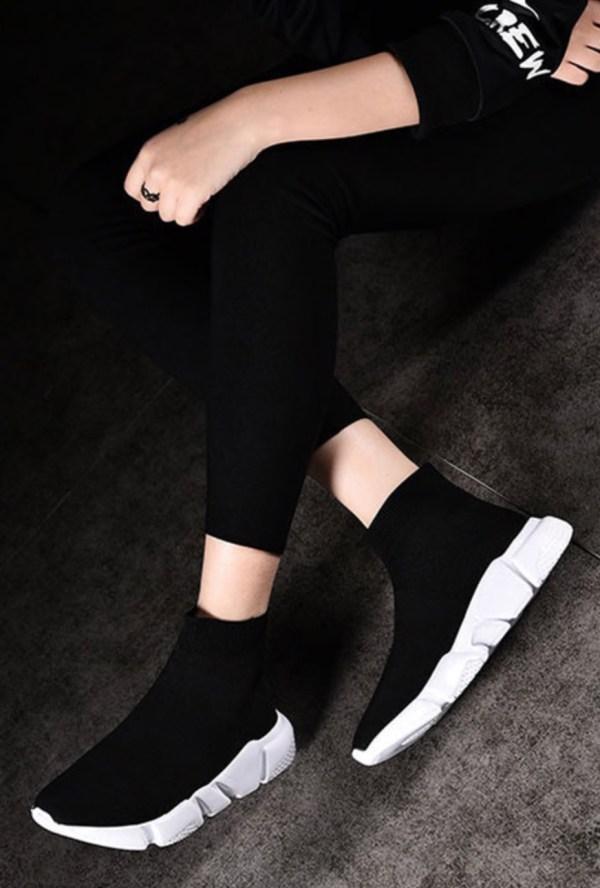 sok-schoenen balenciaga sock Shoes