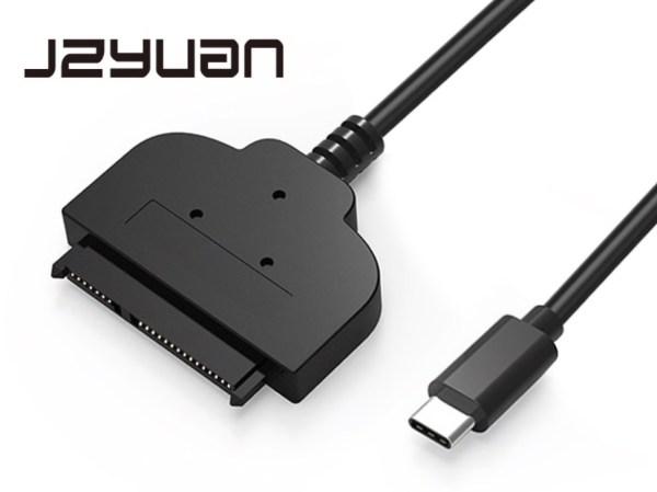 SATA connector USB-C upgrade Macbook SSD extern