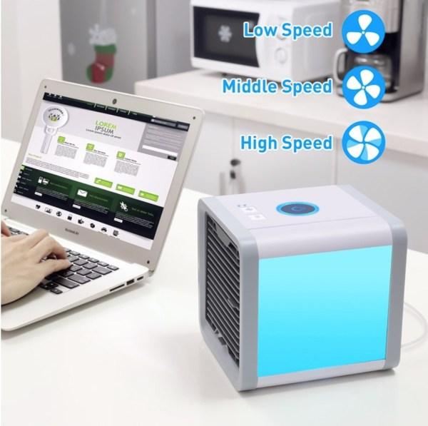mobiele airco mini USB goedkoop Arctic Air