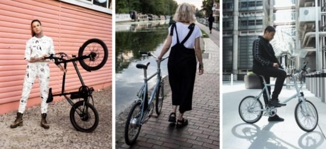 lichte ebike elektrische fiets AMX Mini