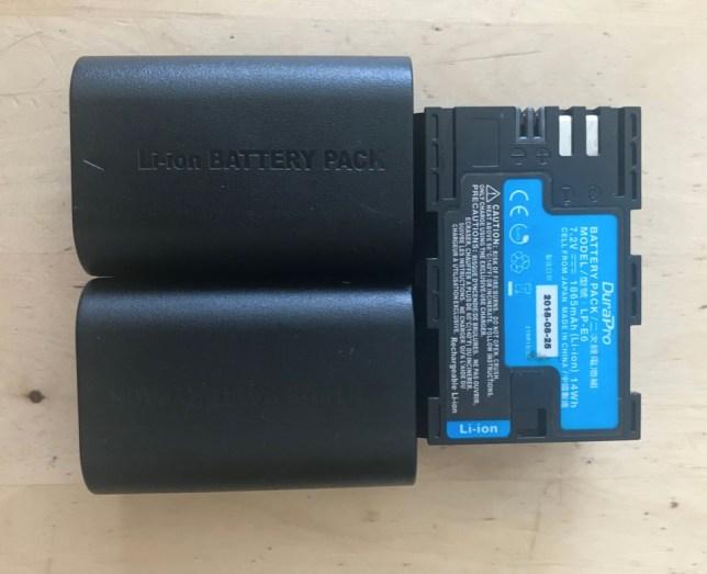 batterij blackmagic accessoire