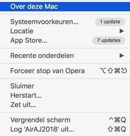 over deze mac