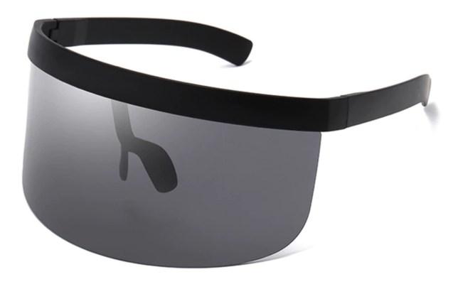 oversize onepiece zonnebril