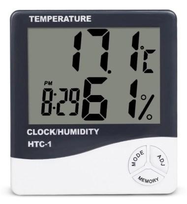 weerstation met hygrometer humidity relatieve luchtvochtigheid