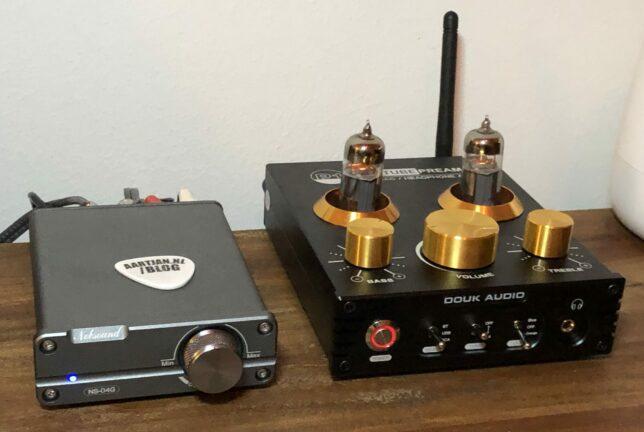 mini tube pre amp plus mini power amp
