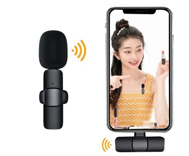 draadloze microfoon iphone android