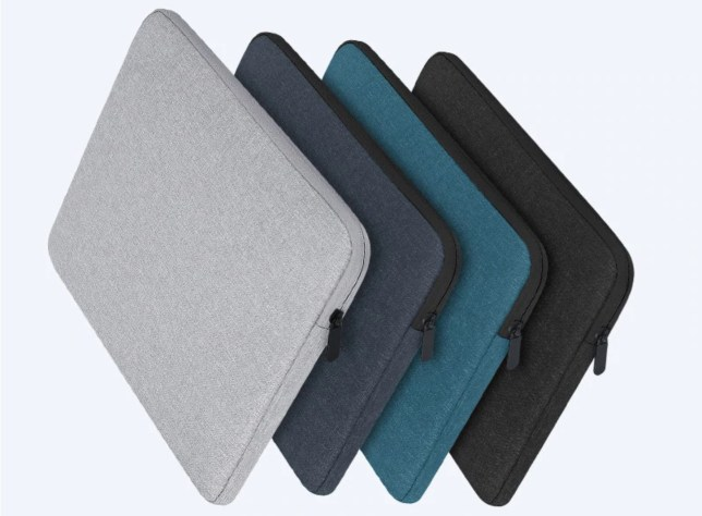 soft shell laptophoes met rits