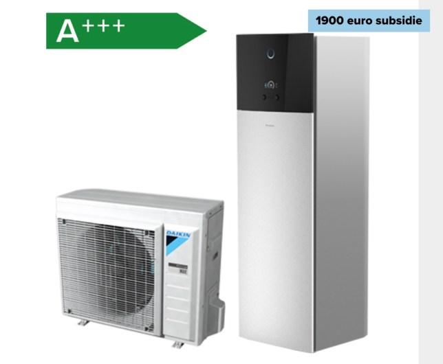 luchtwater warmtepomp elektrische verwarming