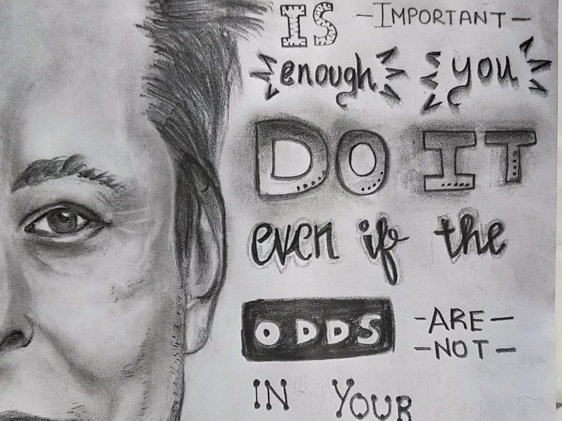 Inspiration series: Elon Musk sketch