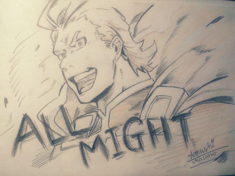 Toshinori Yagi a.k.a All Might