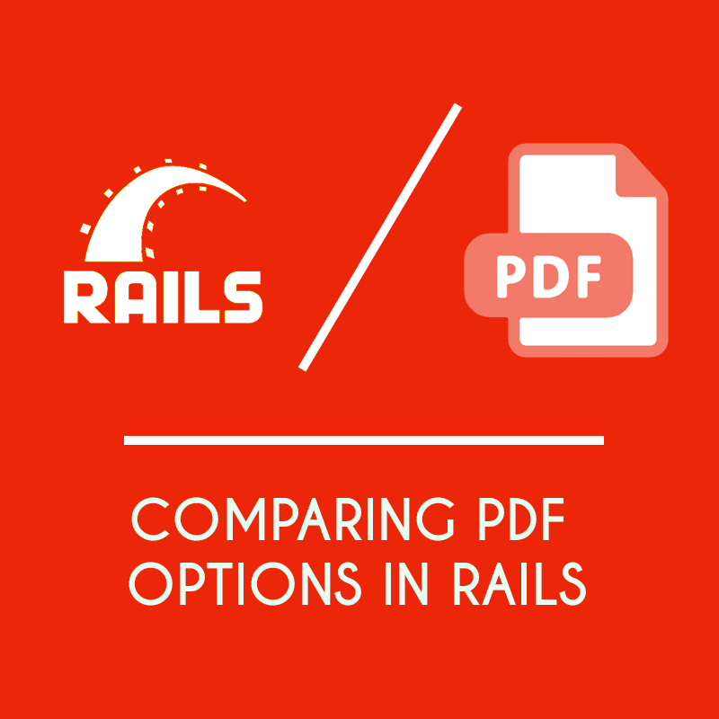 5 different ways to Generate PDF Charts in Rails 6