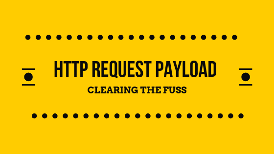 Http request payload
