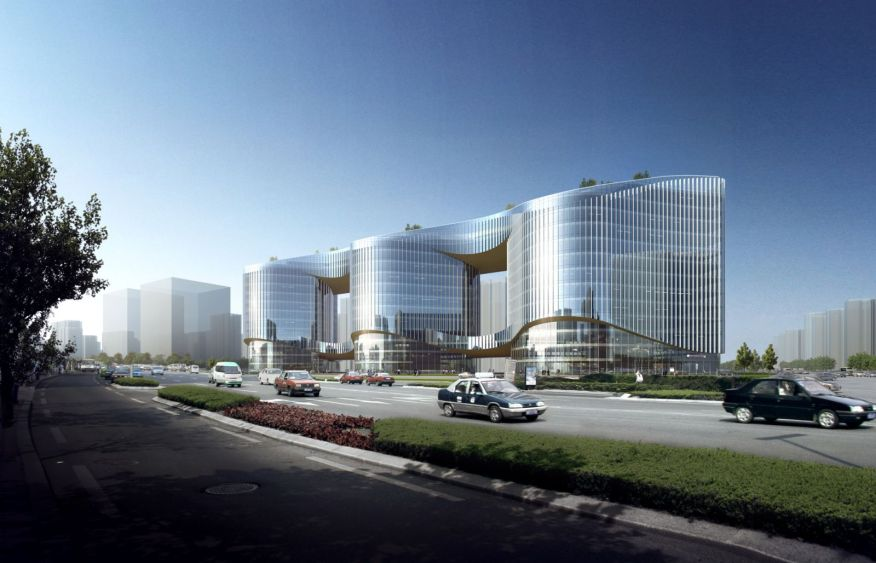 Zhenghong Property Air Harbour Office Project