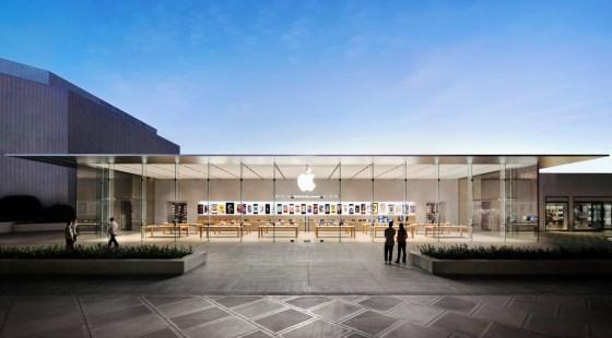 Apple Store in Stanford Palo Alto