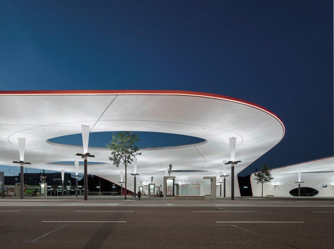 Central Bus Station in Pforzheim