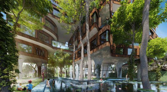 Dowlat Apartment Garden