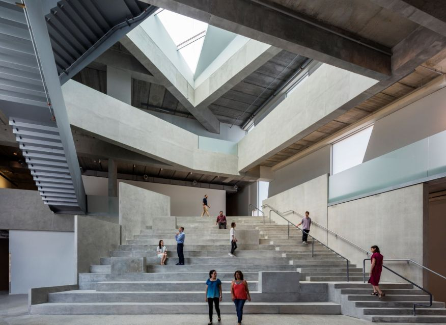 Glassell School of Art and BBVA Compass Roof Garden by Steven Holl Architects