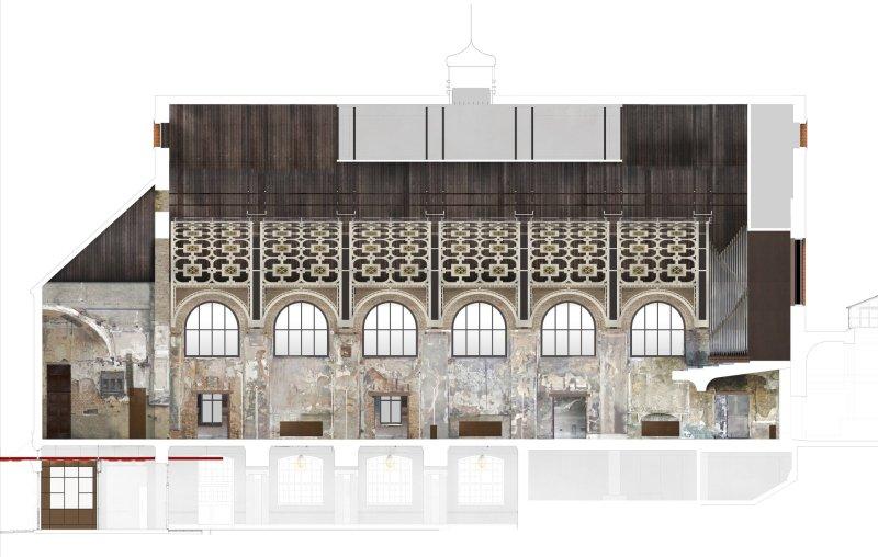 Grand Hall at Battersea Arts Centre