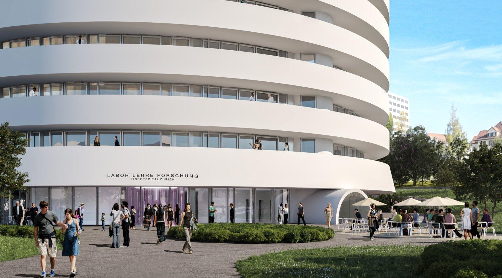 Kinderspital Zurich By Herzog De Meuron Aasarchitecture