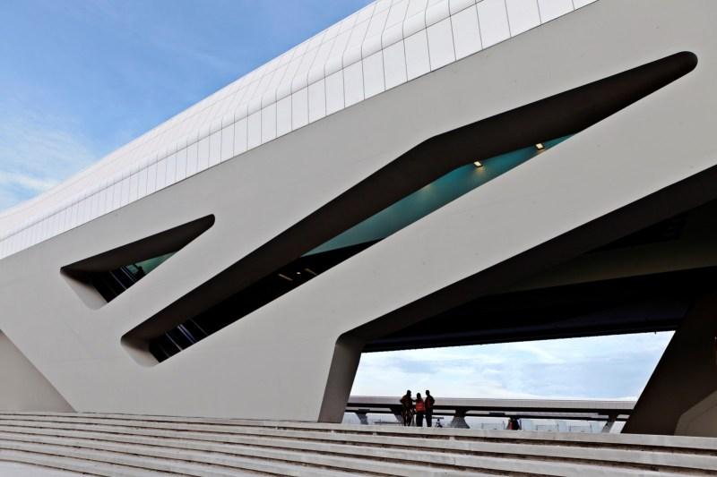 Napoli Afragola station for high speed rail