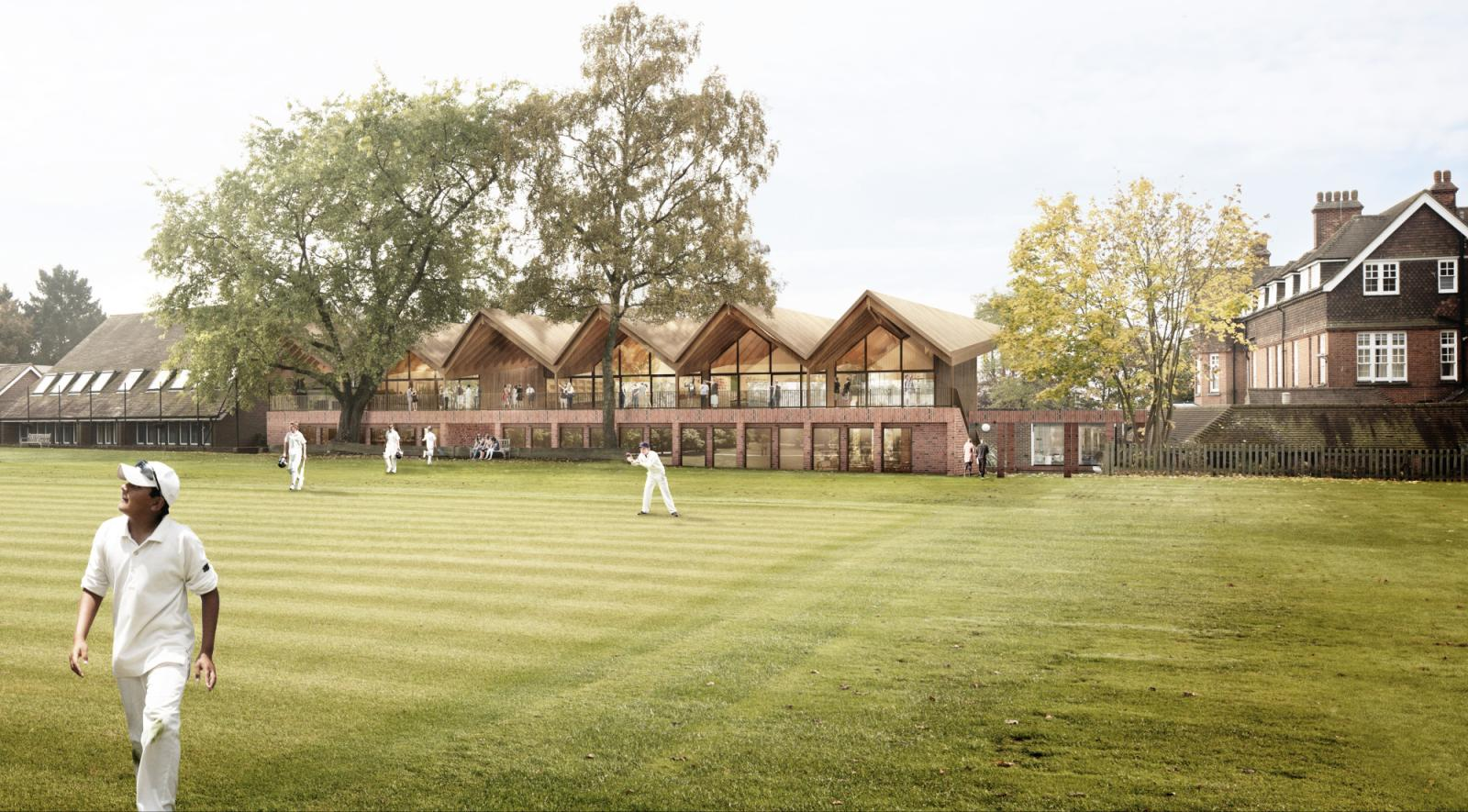 New Cranleigh School Classrooms and Cricket Pavilion Push Boundaries