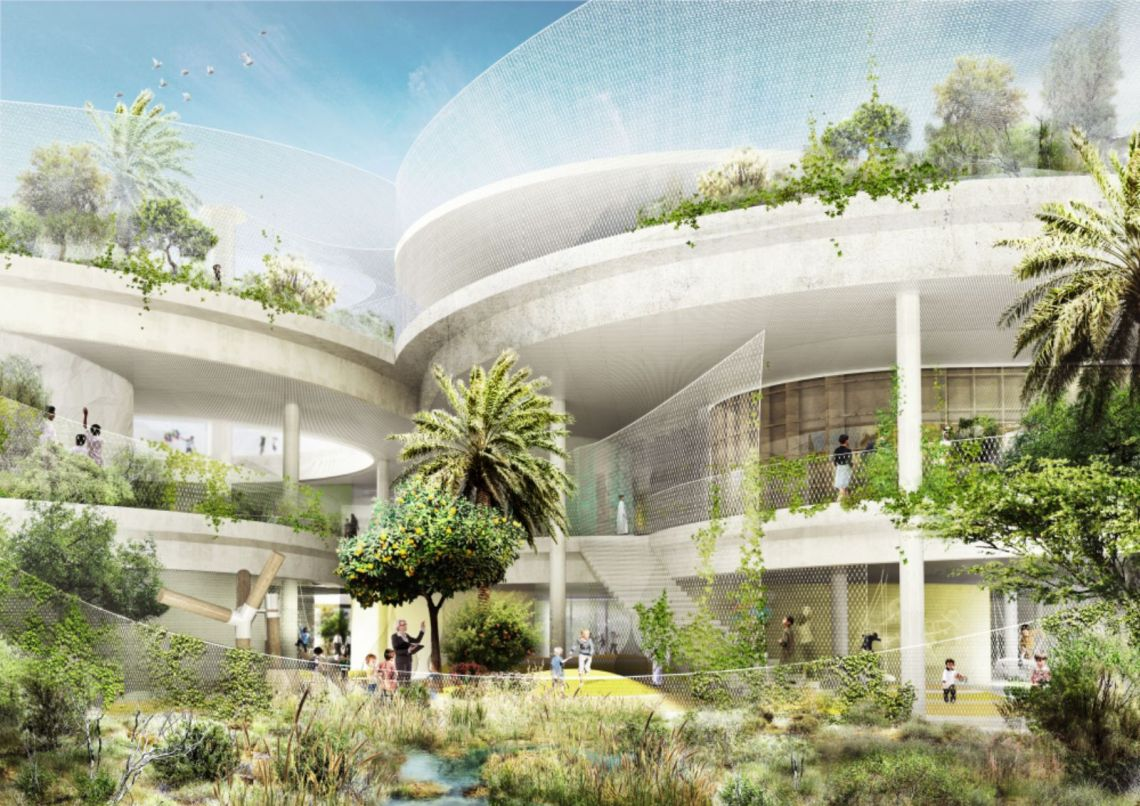 New Sustainable school in the United Arab Emirates