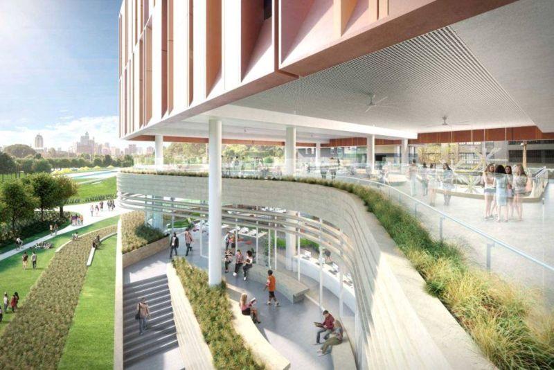 New high-rise school