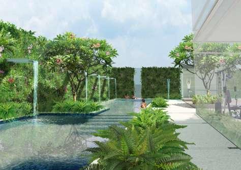 landscape design for Capitol Singapore