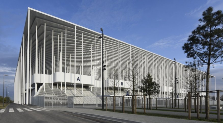 nouveau stade de bordeaux by herzog de meuron. Black Bedroom Furniture Sets. Home Design Ideas