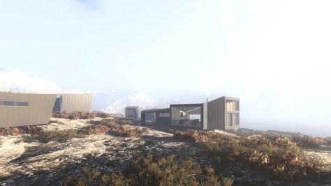 Nye Skåpet Mountain Lodges in Soddatjørn