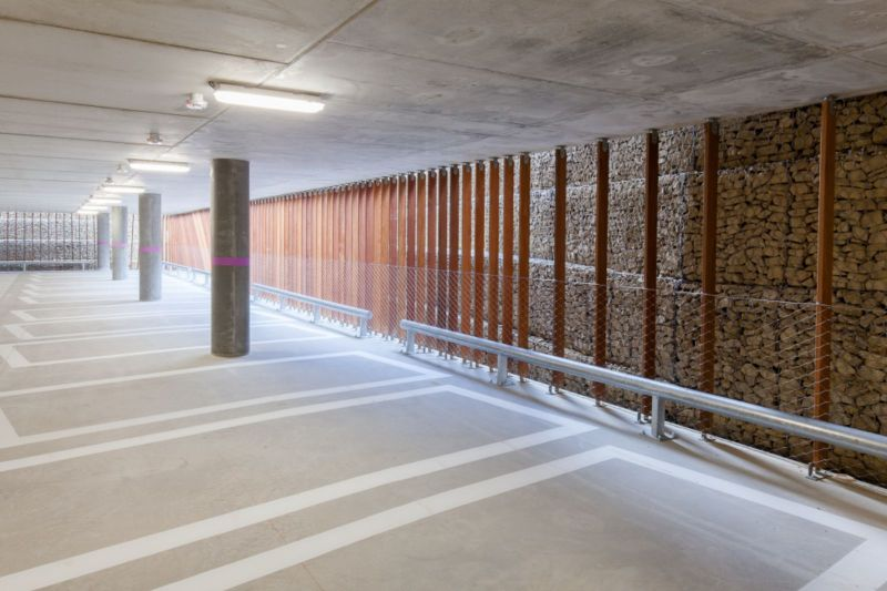 Photo C Lieven Van Landschoot Parking Garage