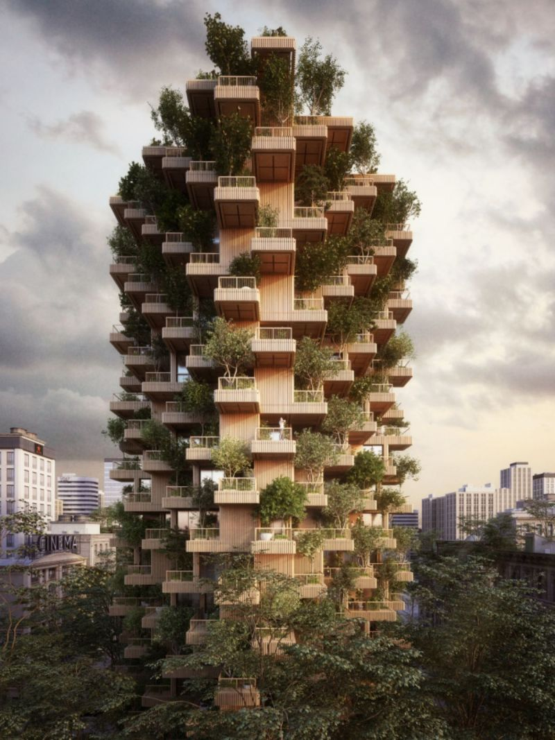 natural highrise tower
