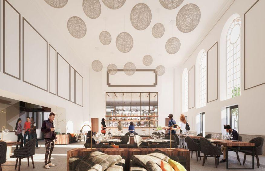 Perth City Hall renovation