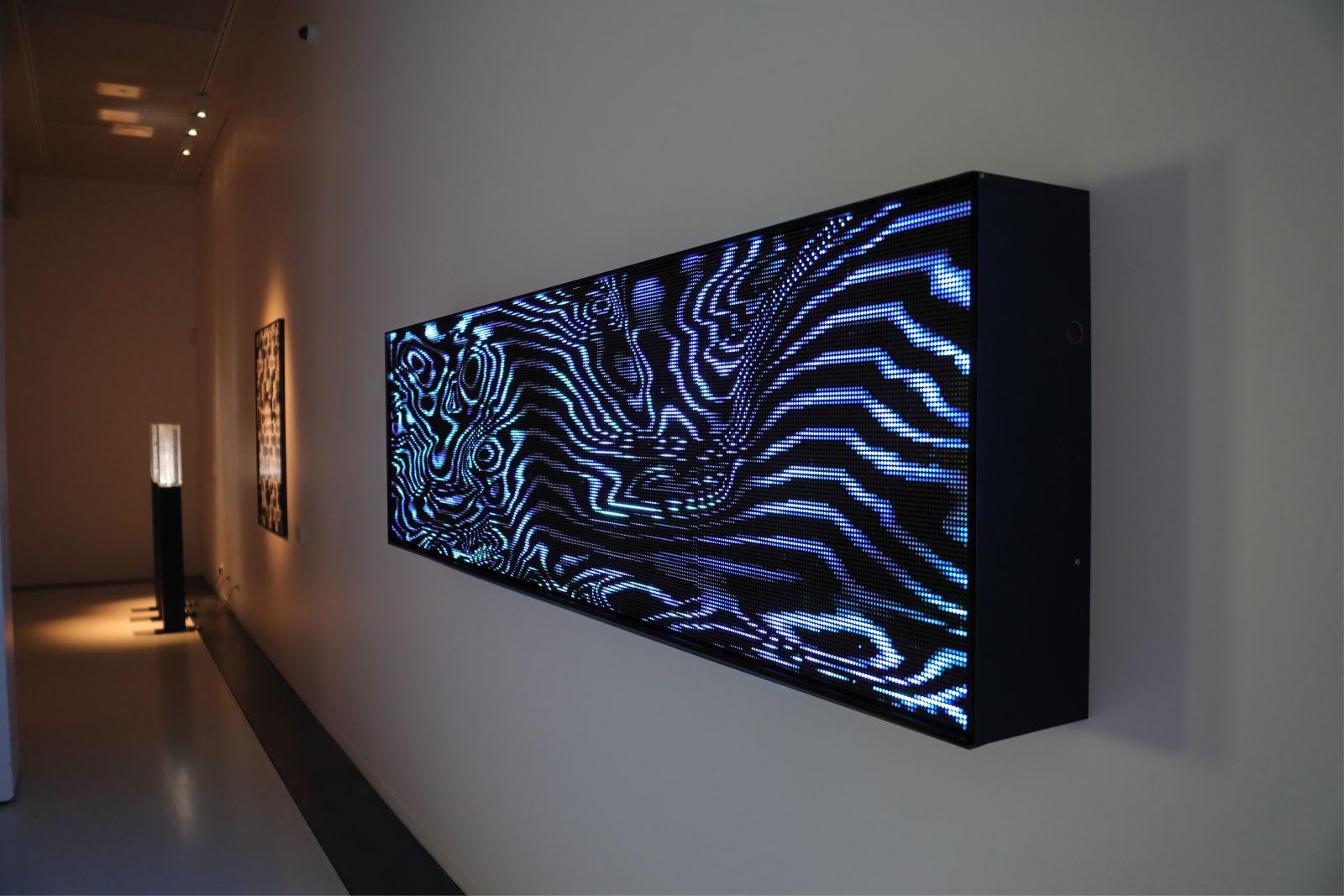 Pixels Noir Lumiere 2019 By Miguel Chevalier 15
