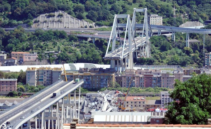 Renzo Piano econstruction of the Morandi Bridge