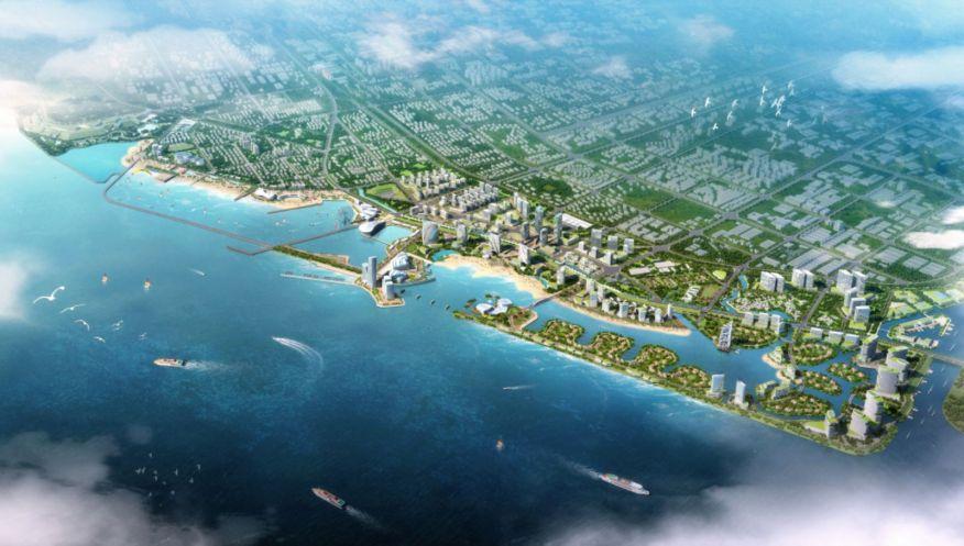 Shanghai Jinshan Coastal Area