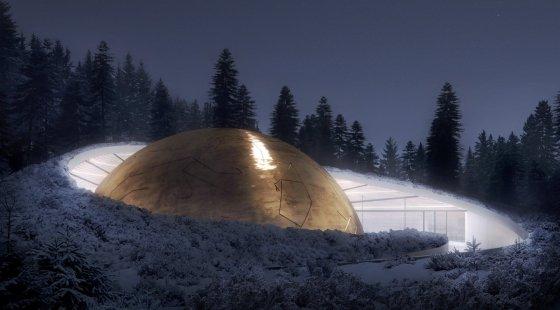 planetarium and visitor center