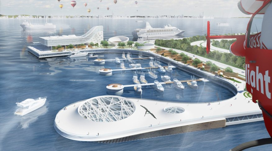 Suez Cruise Terminal By Mohamed Elbangy - Port design