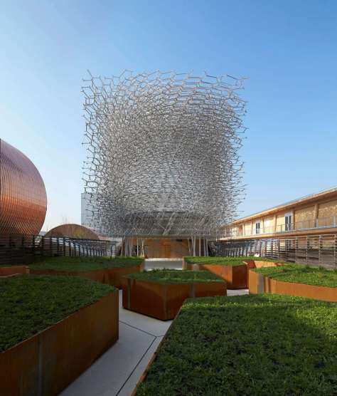 UK Pavilion for Milan Expo 2015