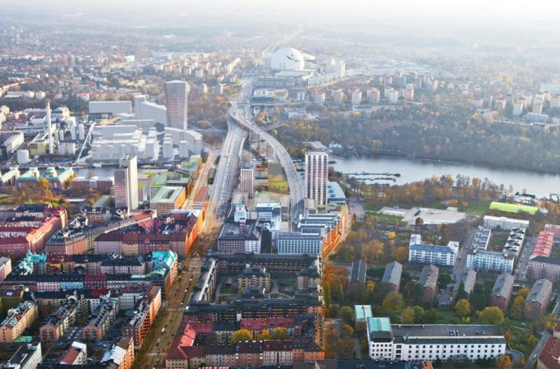 Plans to reclaim underutilized areas of Stockholm