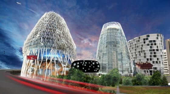 proposed scheme for site near the M4 gateway into London